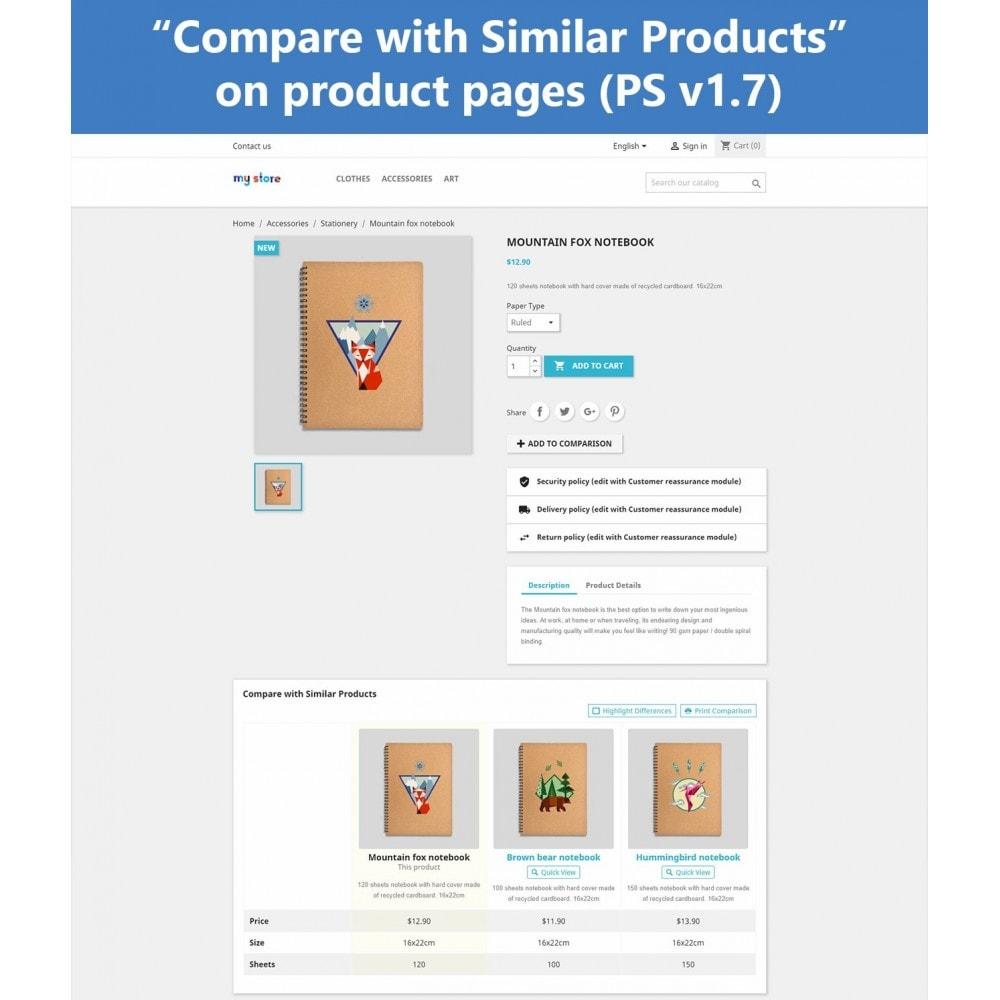 module - Price Comparison - Product Comparison Plus - 12