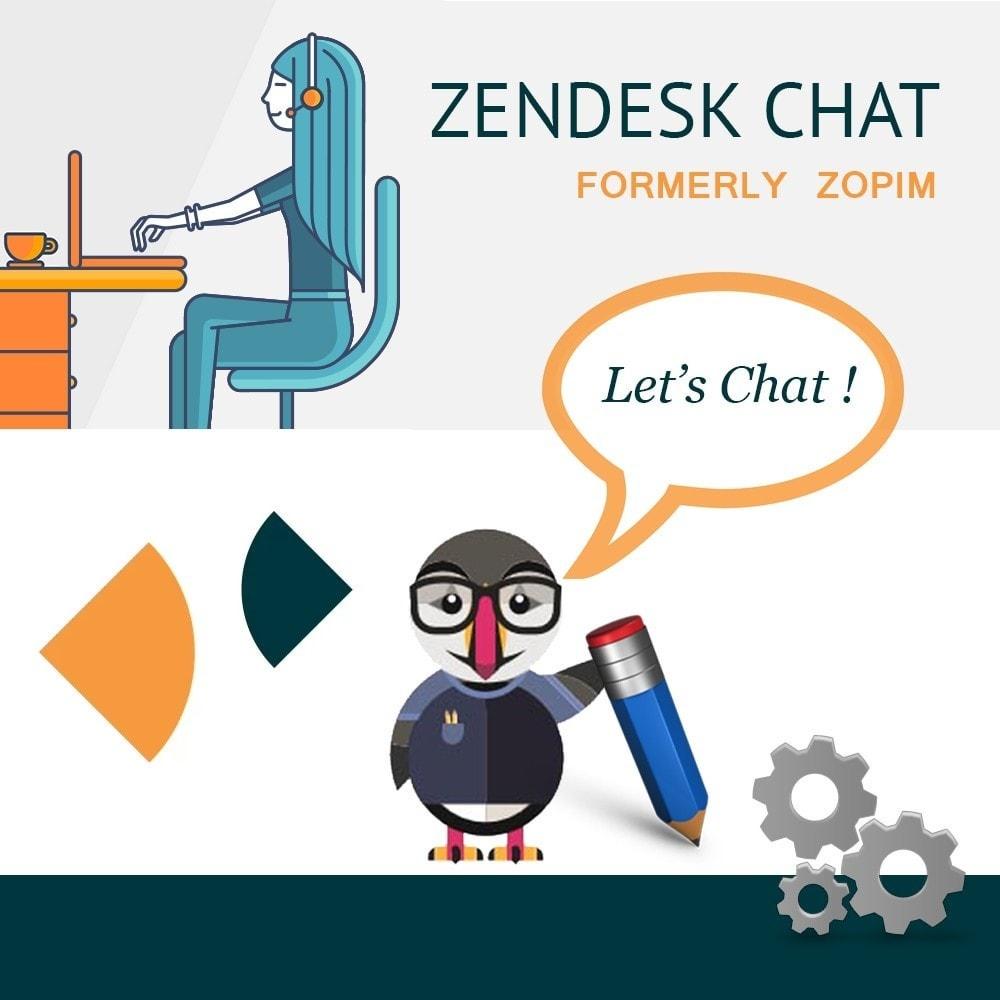 module - Поддержка и онлайн-чат - Live Chat by Zendesk - 1