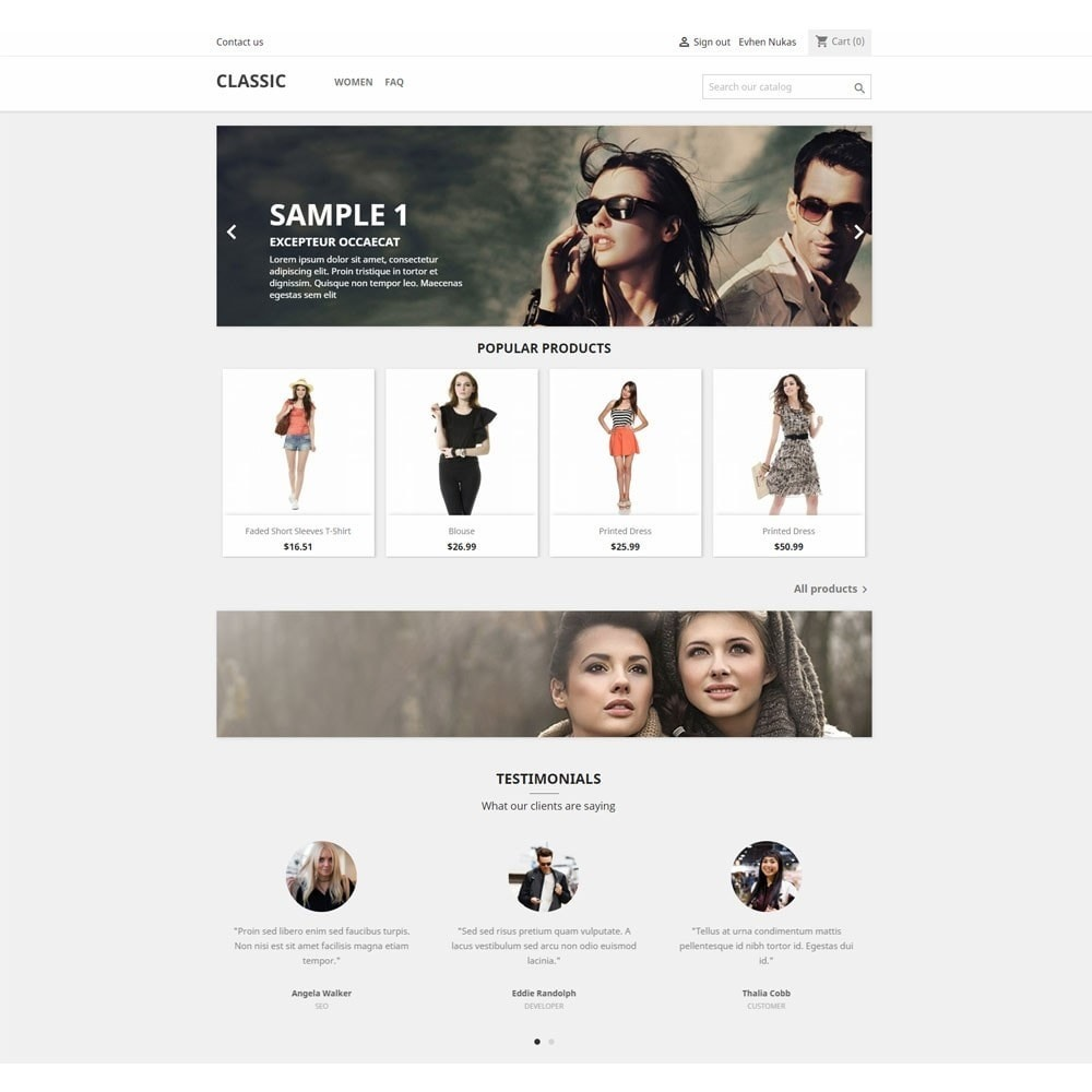 module - Отзывы клиентов - Testimonials carousel with avatars - 2
