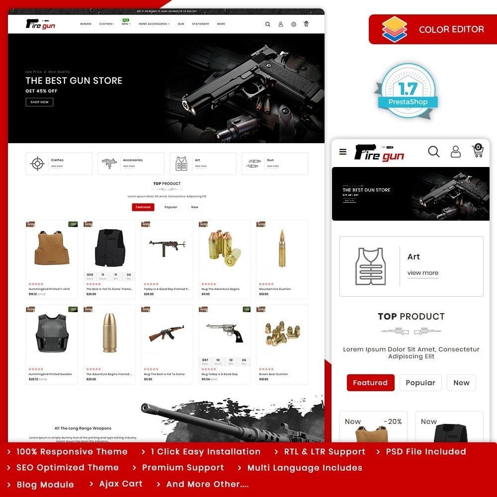 theme - Sport, Loisirs & Voyage - Firegun - Gun & Weapons Store - 10