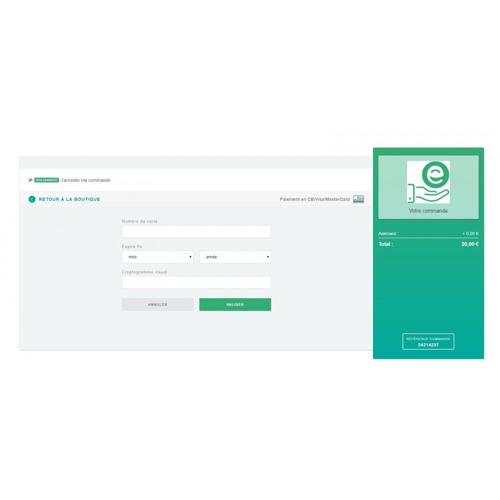 module - Payment by Card or Wallet - PayGreen - 1