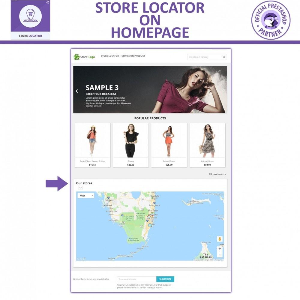 module - Internacional & Localização - Google Maps Store Locator and Google Maps Store Pickup - 3
