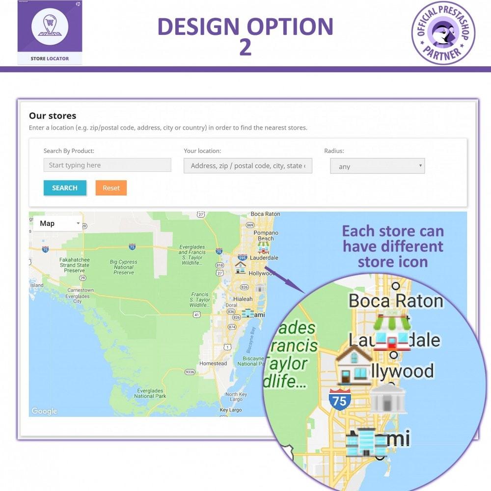 module - Internacional & Localização - Google Maps Store Locator and Google Maps Store Pickup - 5