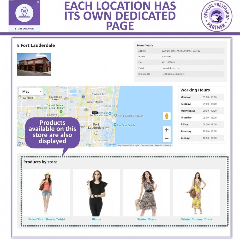 module - Internacional & Localização - Google Maps Store Locator and Google Maps Store Pickup - 7