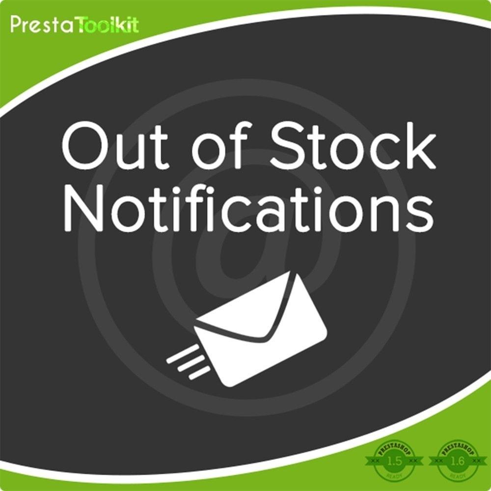 module - E-mails & Notícias - Notificação de falta de estoque - 2