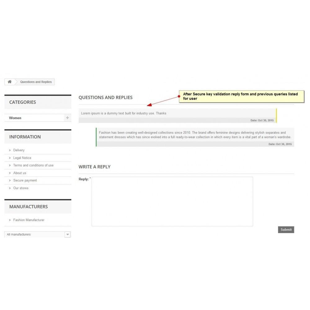 module - Contactformulier & Enquêtes - Product Onderzoek, product offerte - 4
