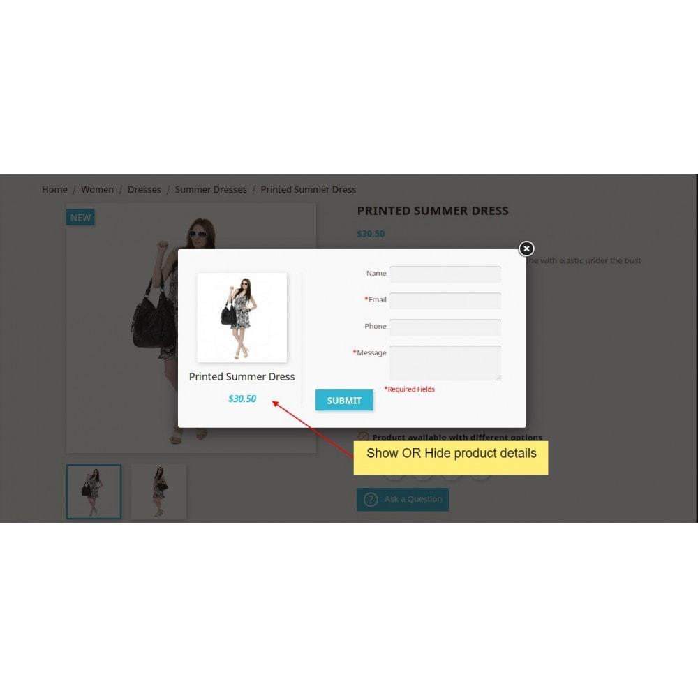 module - Contactformulier & Enquêtes - Product Onderzoek, product offerte - 7