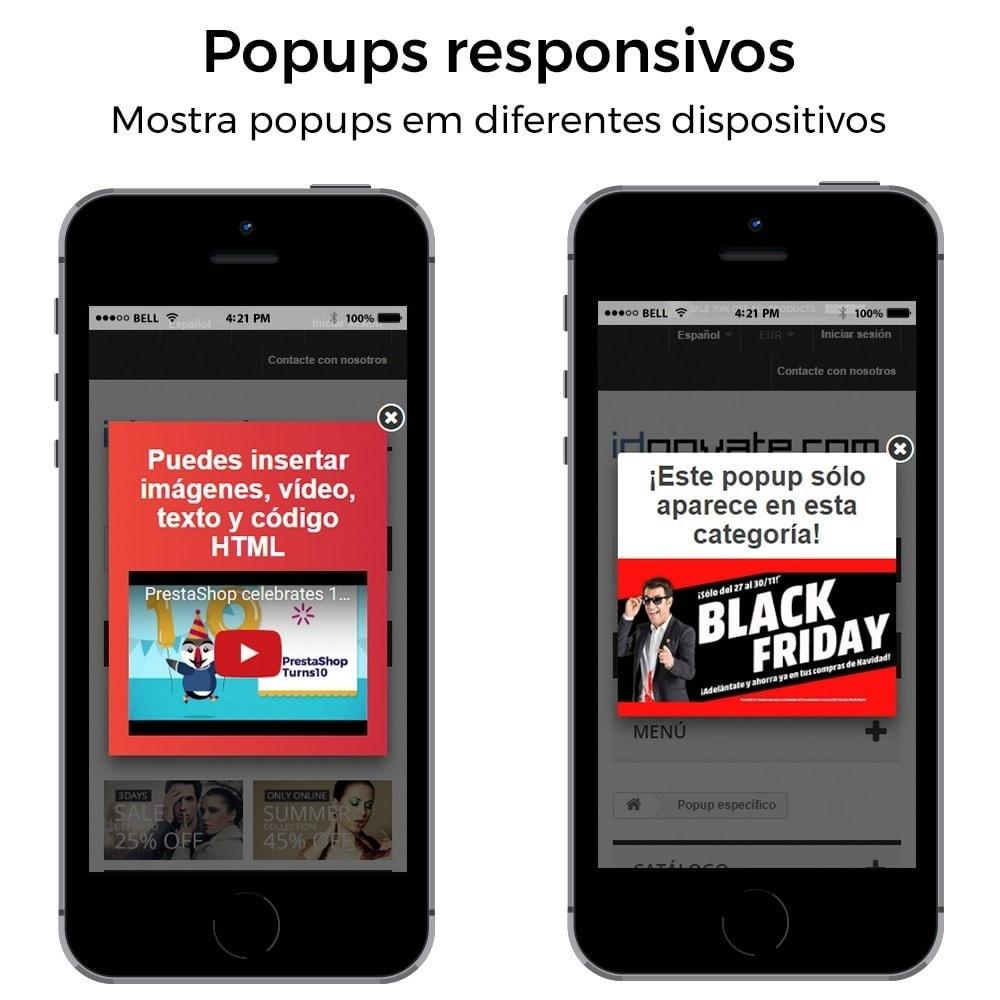 module - Pop-up - Popup ao entrar, sair, adicionar produtos e newsletter - 8