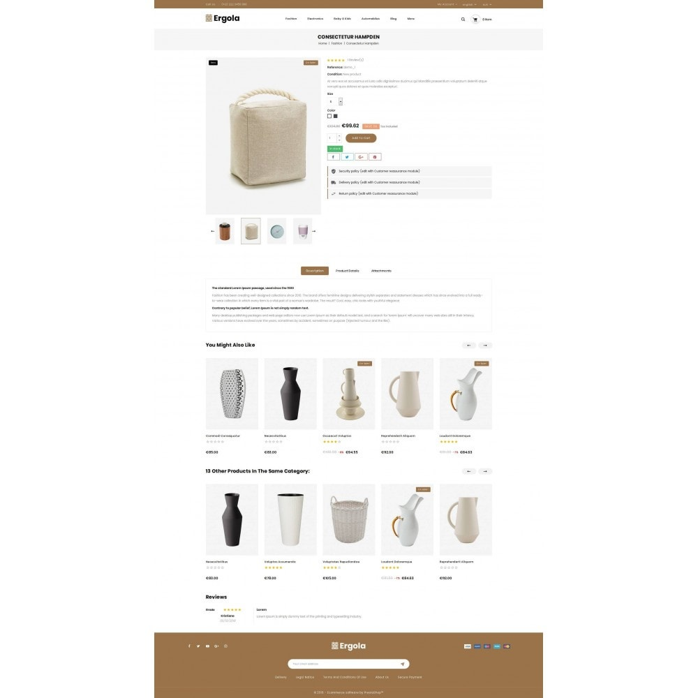 theme - Home & Garden - Ergola - Online Furniture Store - 5