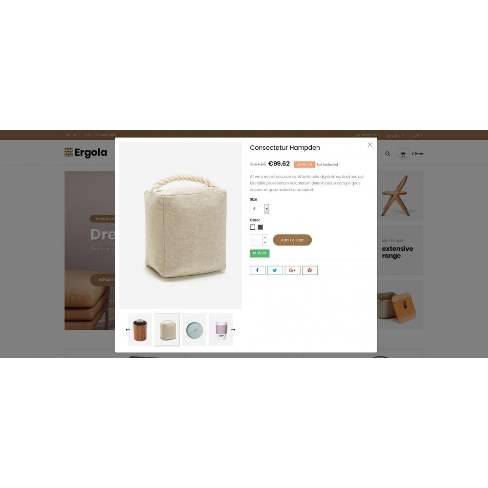 theme - Home & Garden - Ergola - Online Furniture Store - 8
