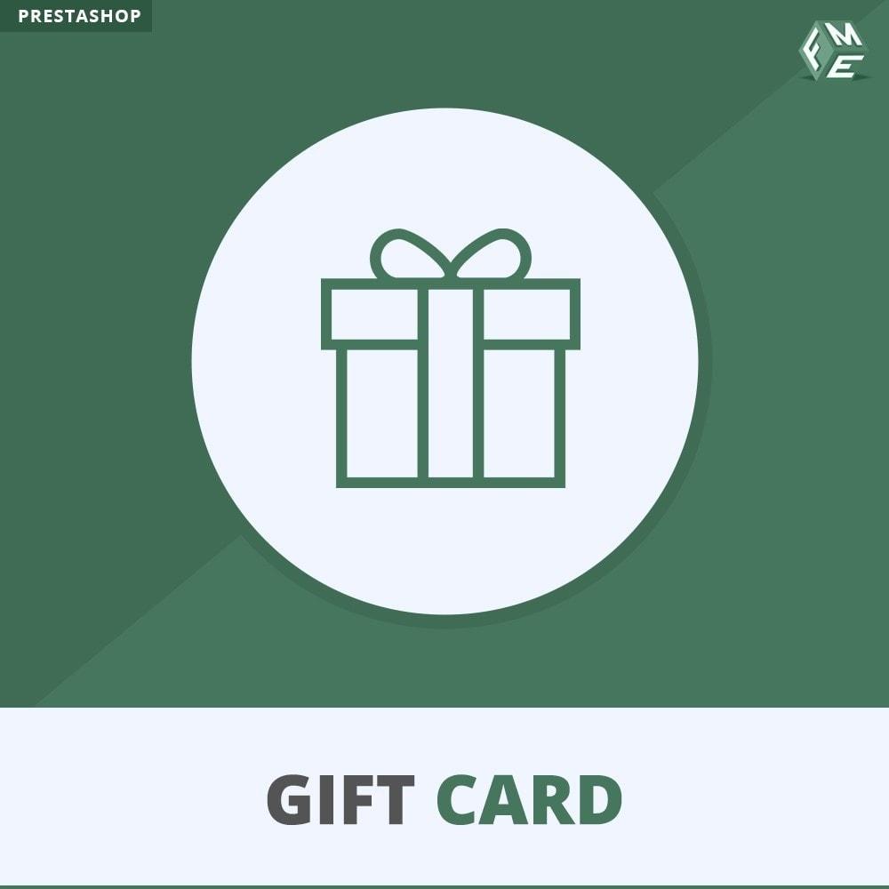 module - Lista de desejos & Vale-presente - Gift Card Module - Gift Card Certificates & Vouchers - 1