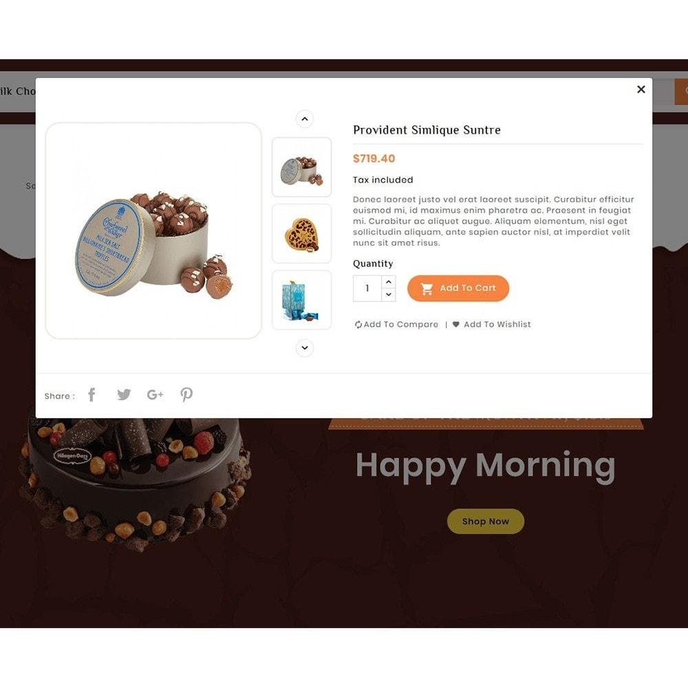 theme - Presentes, Flores & Comemorações - Chocolate - Delights & Dairy Shop - 8