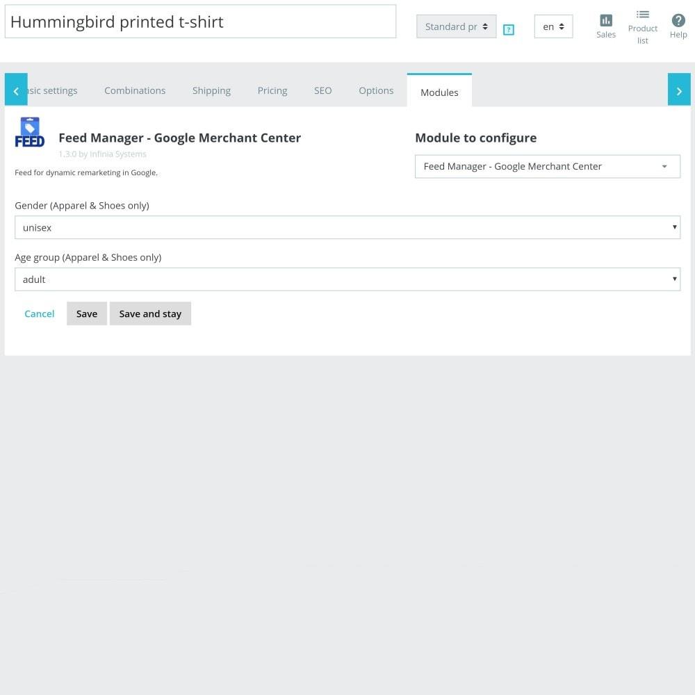 module - Betaalde vermelding & Lidmaatschap - Google/Bing Merchant Center XML Product Feed - 5