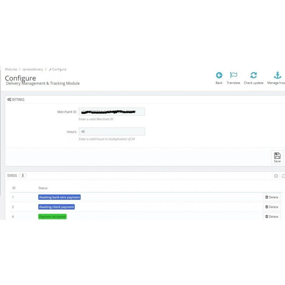 module - Rastreamento da entrega - Delivery Management & Tracking - 1