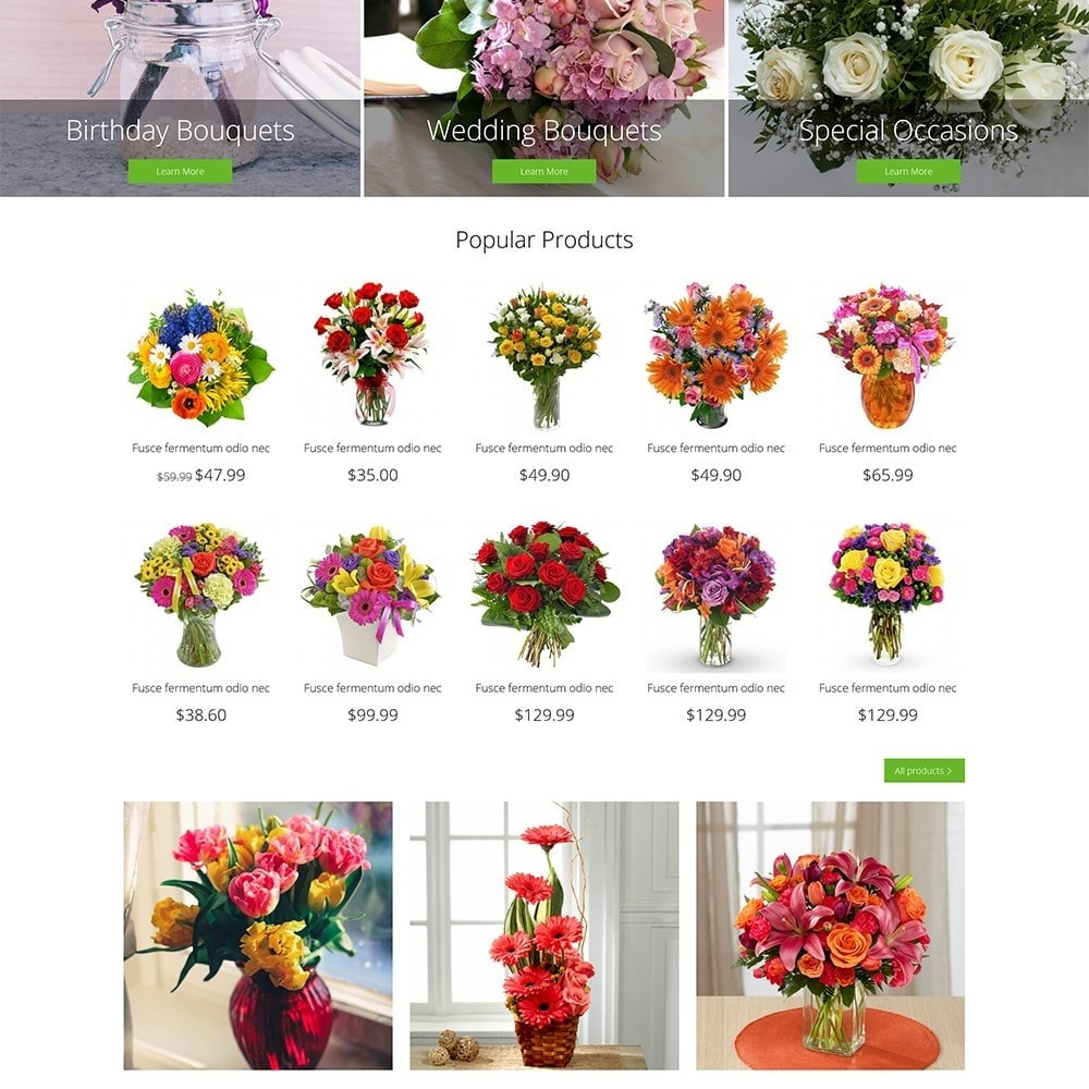 theme - Gifts, Flowers & Celebrations - Flower Shop - 4