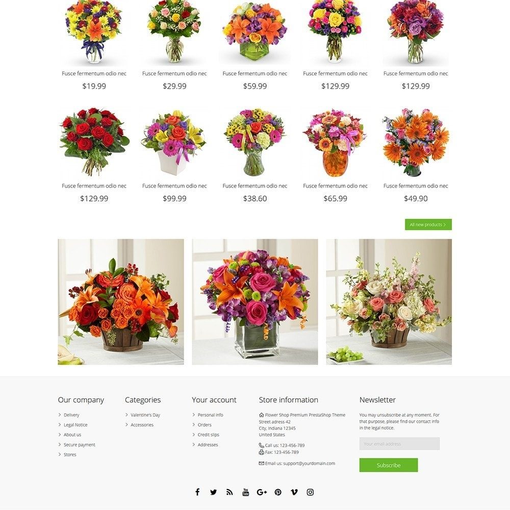 theme - Gifts, Flowers & Celebrations - Flower Shop - 5