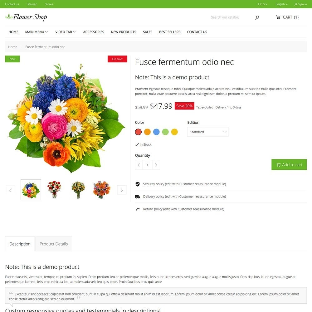 theme - Gifts, Flowers & Celebrations - Flower Shop - 6