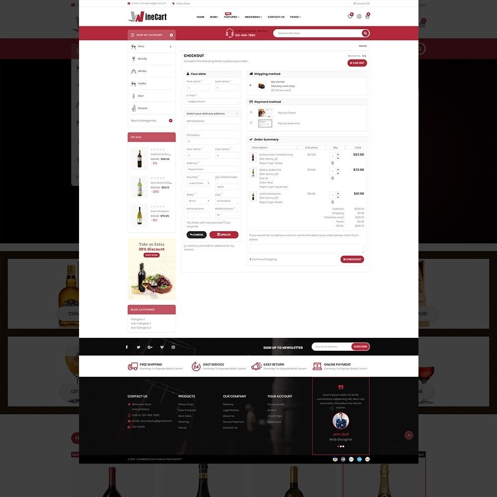 theme - Напитки и с сигареты - Wine cart– Multipurpose Mega Wine Store - 12