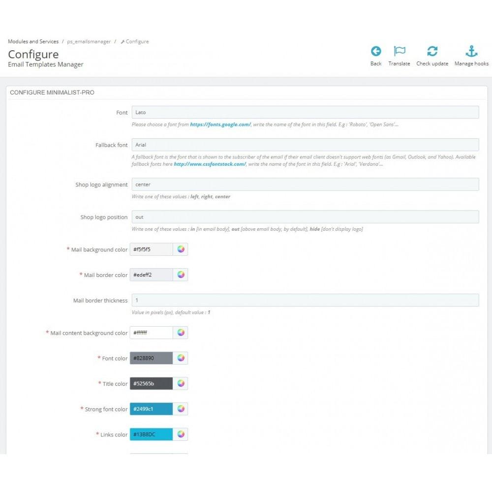 email - PrestaShop-E-Mail-Vorlagen - Minimalist Pro - Email templates - 4