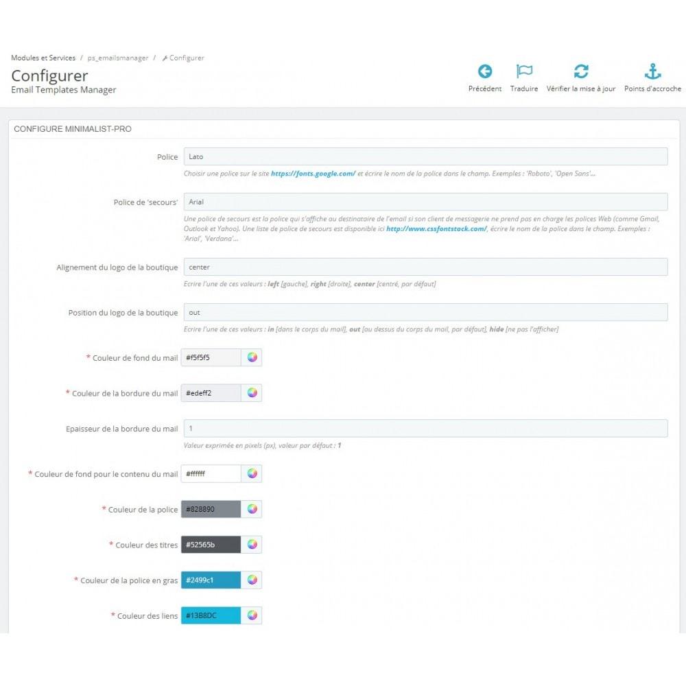 email - Templates d'e-mails PrestaShop - Minimalist Pro - templates d'e-mails - 4