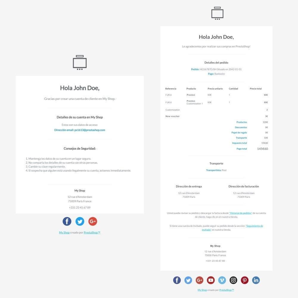 email - Plantillas de correos electrónicos PrestaShop - Minimalist Pro - Plantilla de correos electrónicos - 3