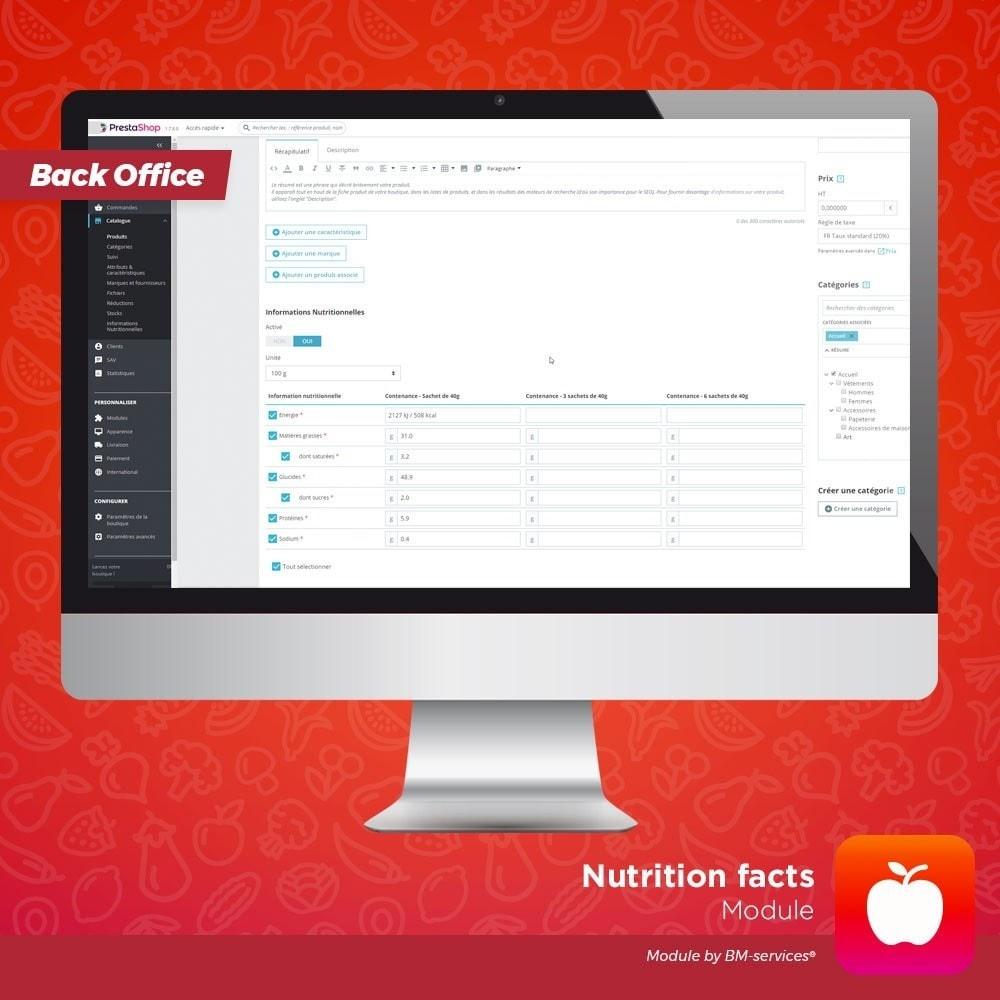 module - Żywność & Restauracj - Nutrition facts, ingredients and labels - 5