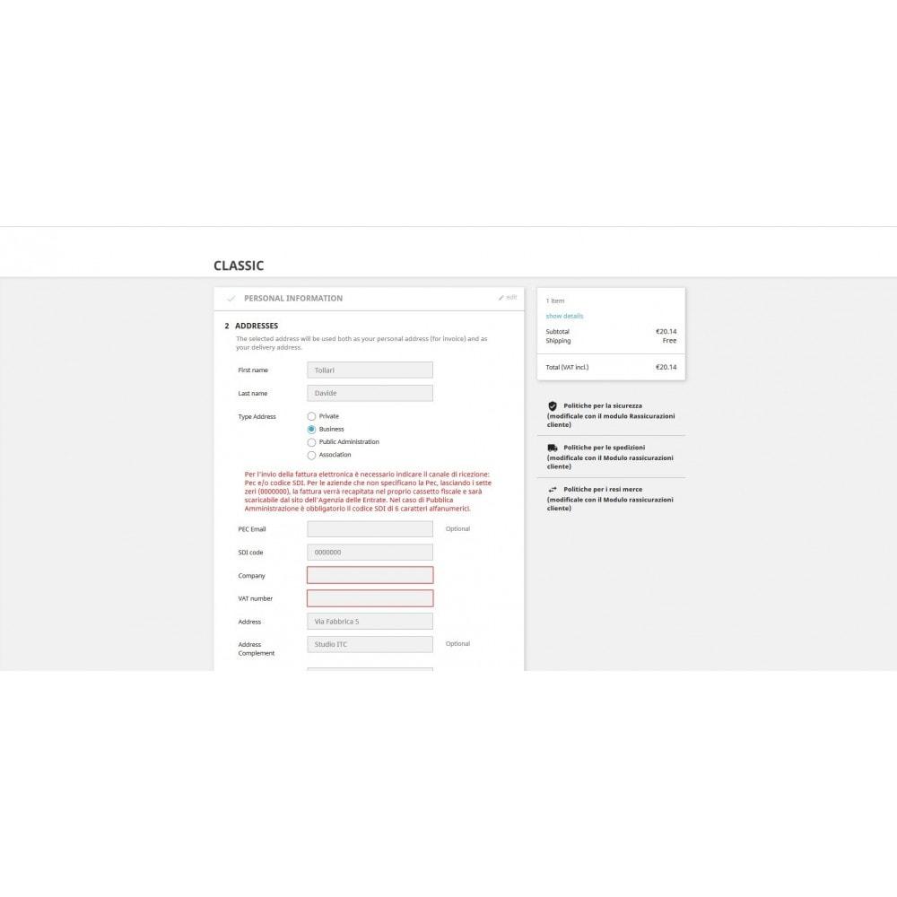 module - Płatność przy użyciu faktury - ITC Electronic Invoice Fields - 7
