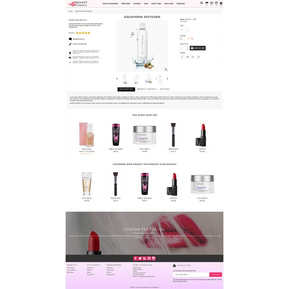theme - Gesundheit & Schönheit - Beauty Cosmetic - 3