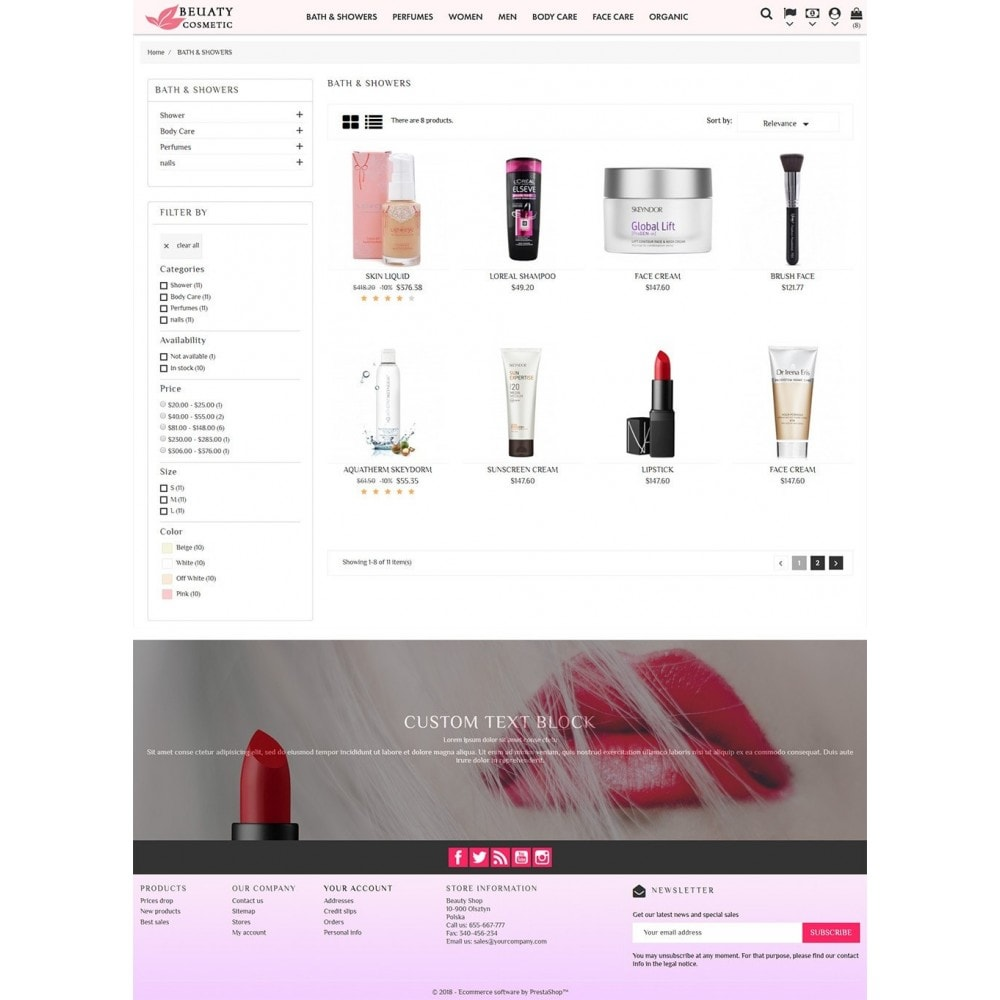 theme - Gesundheit & Schönheit - Beauty Cosmetic - 5