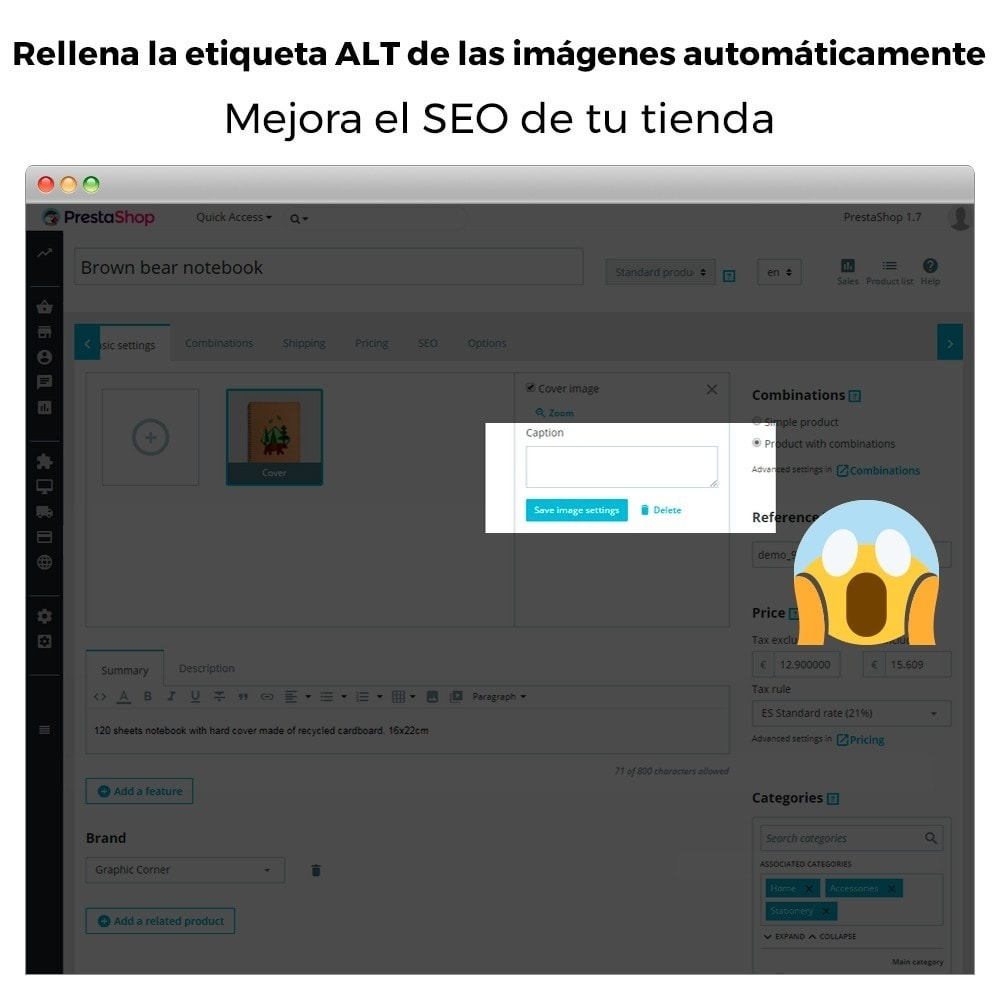 module - SEO (Posicionamiento en buscadores) - Etiqueta ALT de imagen automática - SEO en imagen - 2
