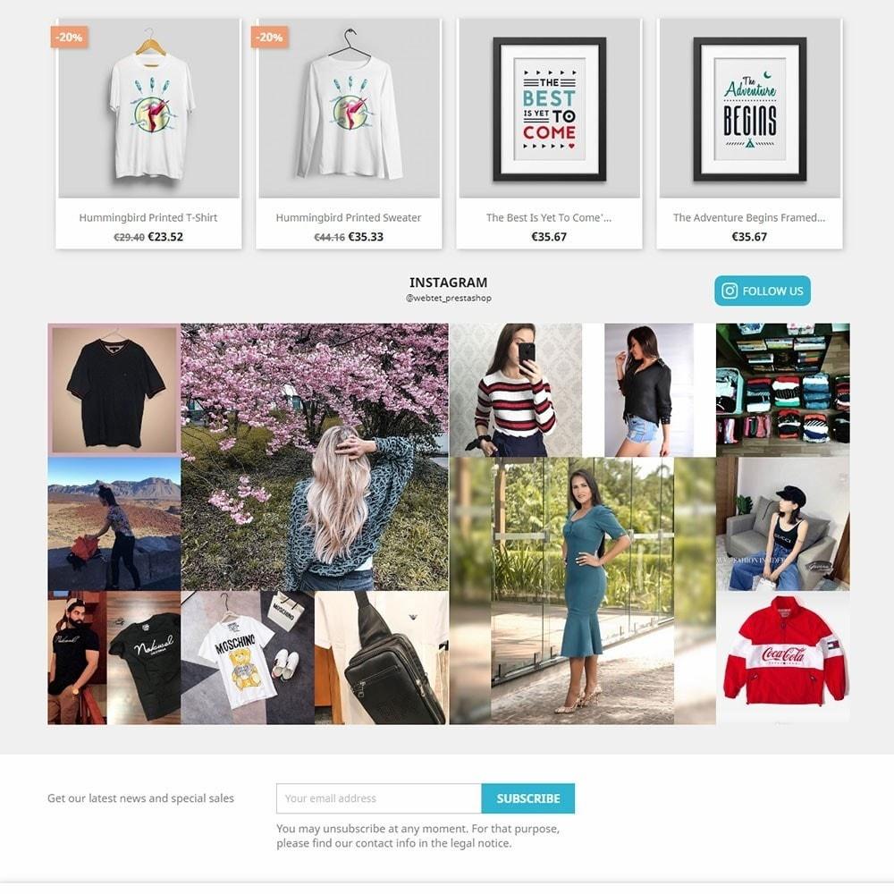 module - Produkty w serwisach społecznościowych - Instagram Feed Gallery Photos User and Hashtag NEW API - 2