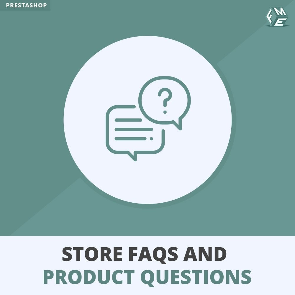 module - FAQ (Perguntas frequentes) - Store FAQs + Product FAQs (Frequently Asked Questions) - 1