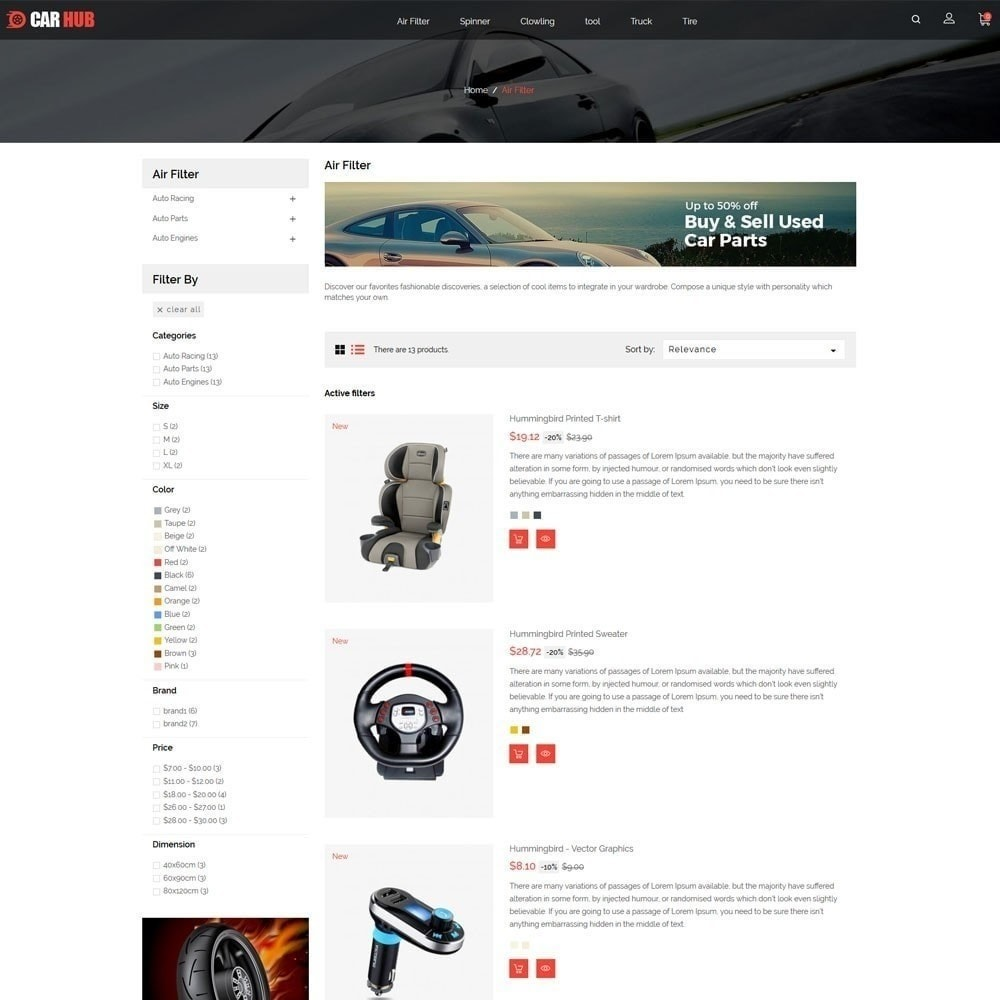 theme - Automotive & Cars - Car- Auto Store - 5