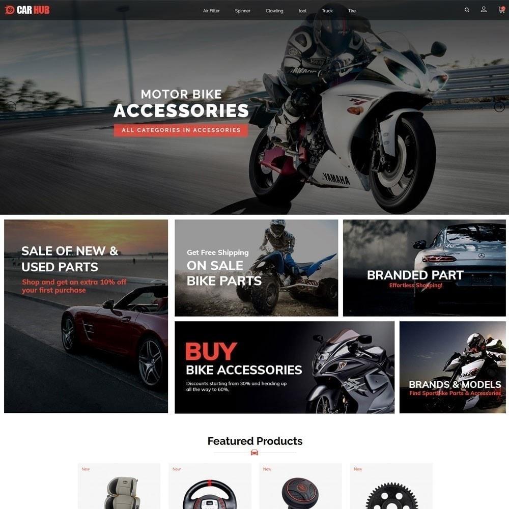 theme - Auto & Moto - Magasin de voitures - 4