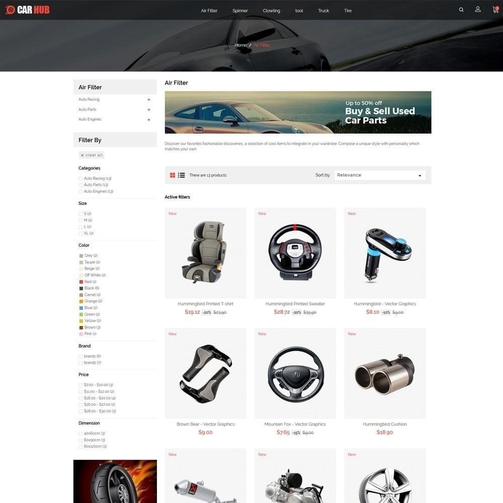 theme - Coches y Motos - Car- Auto Store - 4