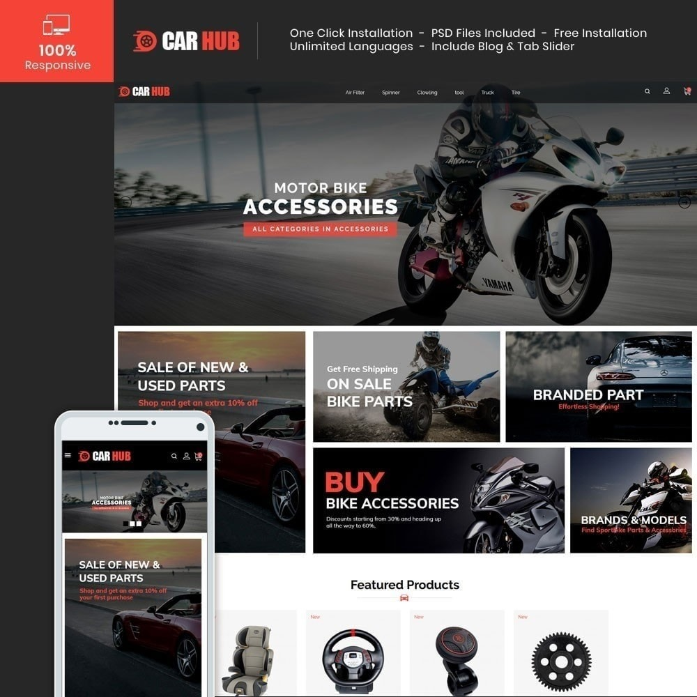 theme - Auto's & Motoren - Auto- Auto Store - 2