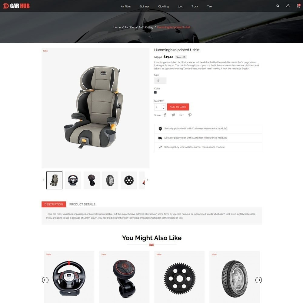 theme - Carros & Motos - Car-Auto Store - 6