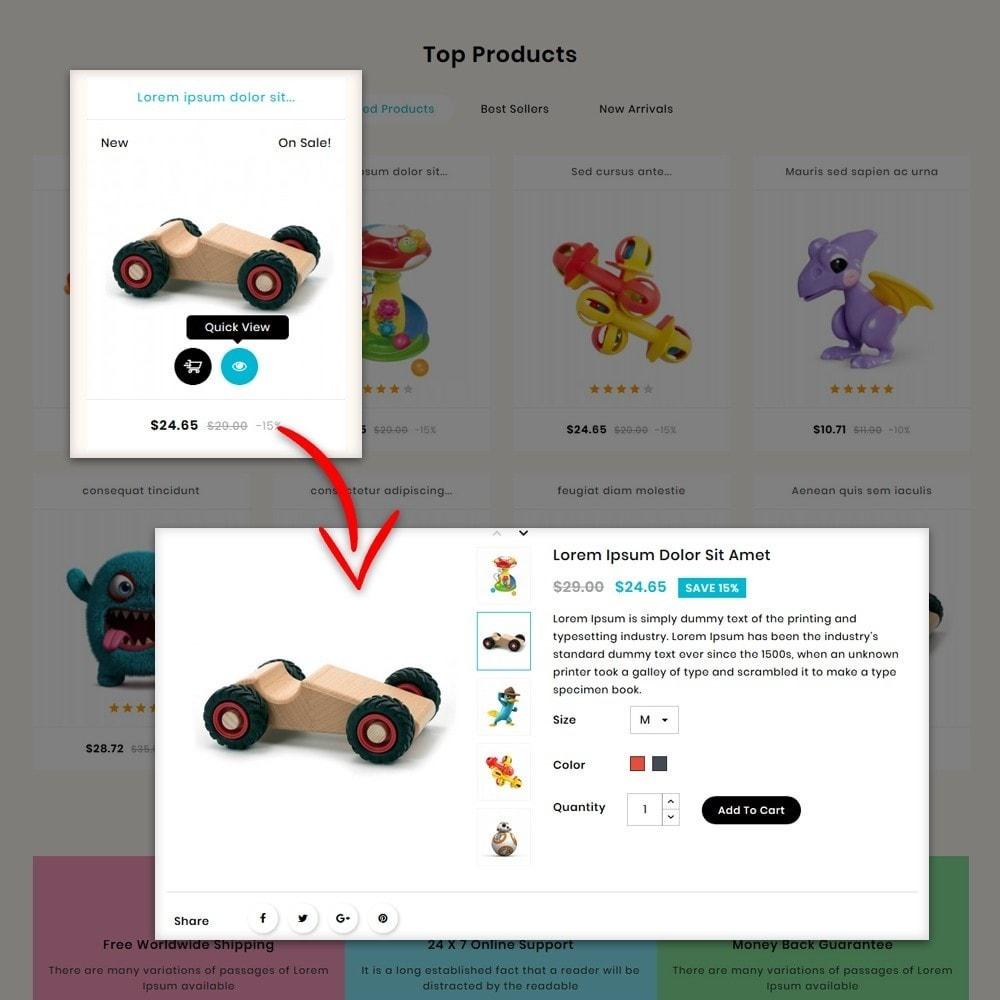 theme - Bambini & Giocattoli - Toys Kids Store - 6