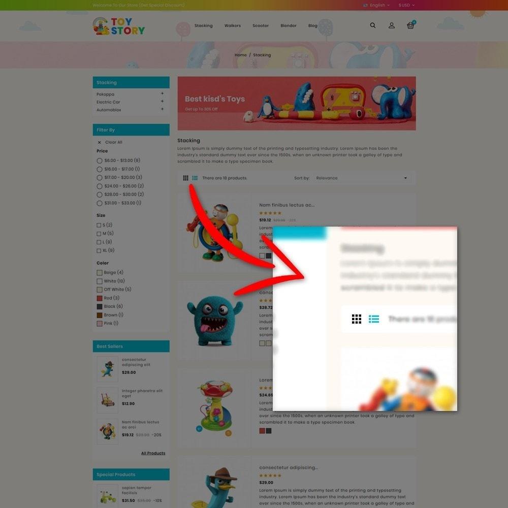 theme - Bambini & Giocattoli - Toys Kids Store - 8