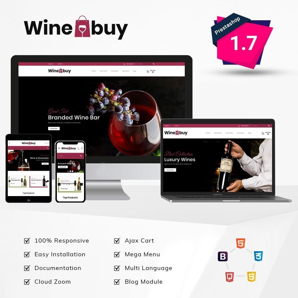 theme - Napoje & Wyroby tytoniowe - Wine buy Store - 1