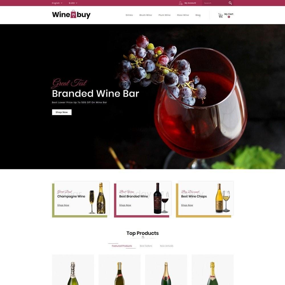 theme - Napoje & Wyroby tytoniowe - Wine buy Store - 2