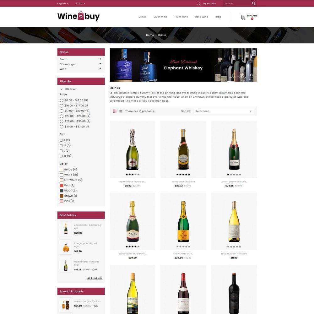 theme - Napoje & Wyroby tytoniowe - Wine buy Store - 3