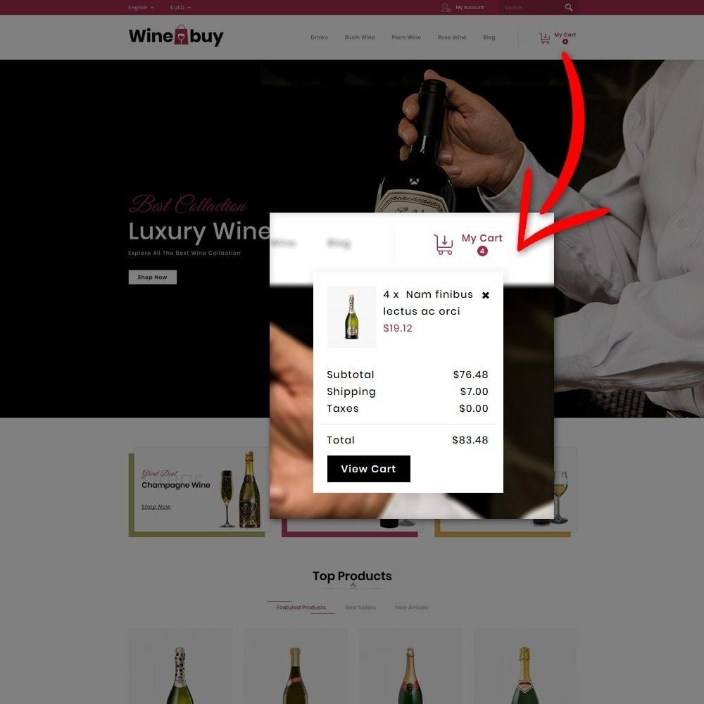 theme - Napoje & Wyroby tytoniowe - Wine buy Store - 6