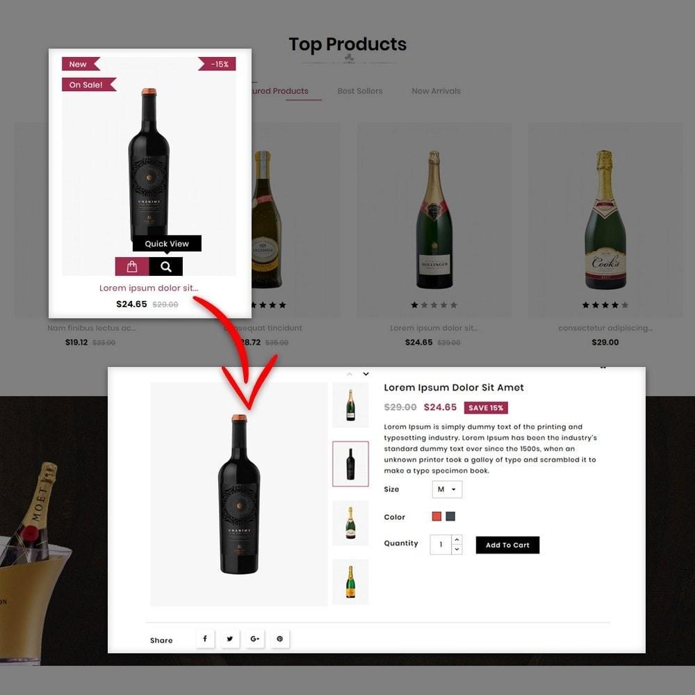 theme - Napoje & Wyroby tytoniowe - Wine buy Store - 7