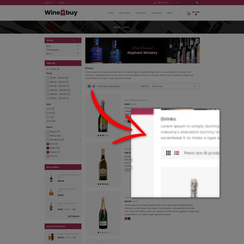 theme - Napoje & Wyroby tytoniowe - Wine buy Store - 8