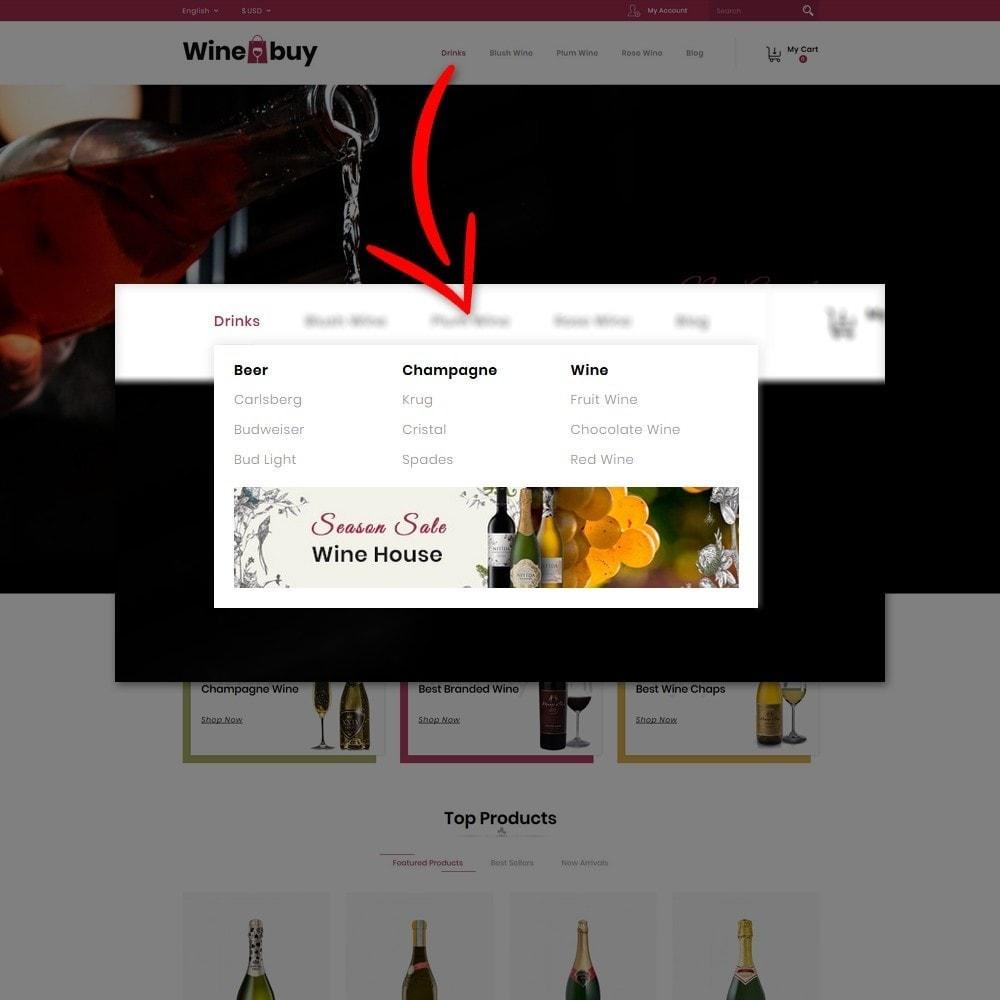 theme - Napoje & Wyroby tytoniowe - Wine buy Store - 9