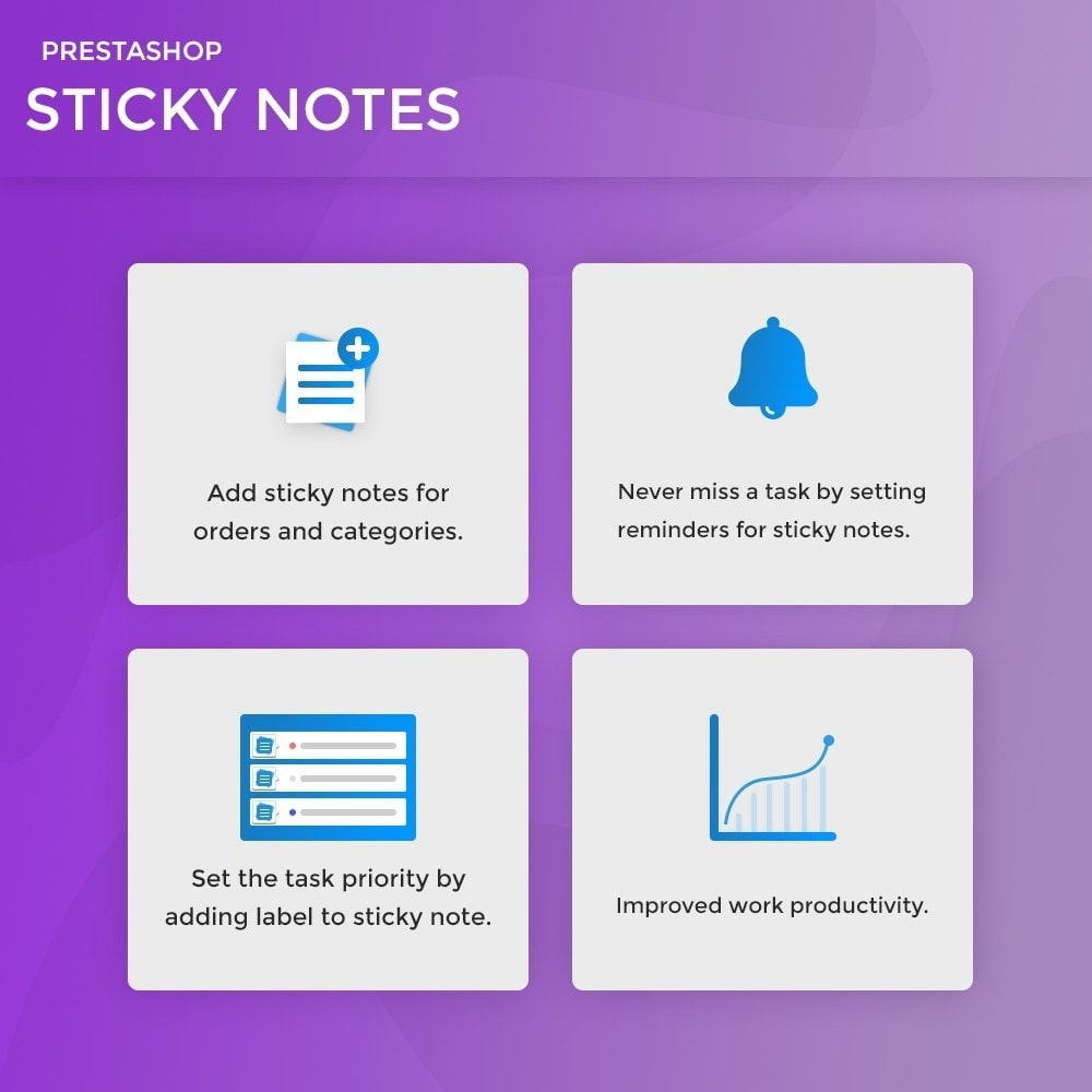 module - E-Mails & Benachrichtigungen - Sticky Notes for Orders and Categories - 2