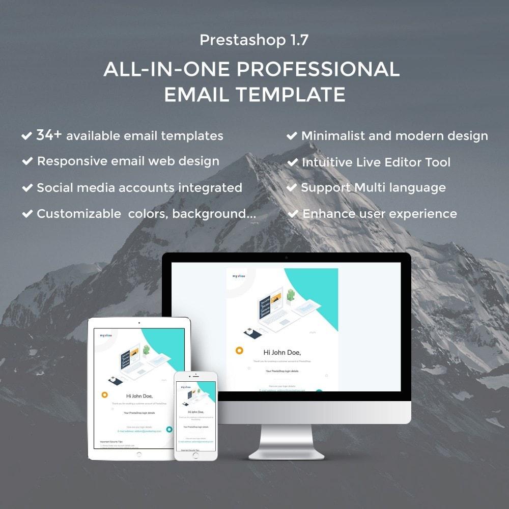 email - Plantillas de correos electrónicos PrestaShop - Concac - Responsive Email Template - 1