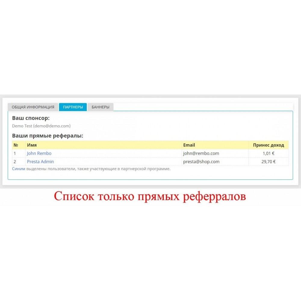 module - Платная поисковая оптимизация - Расширенная партнерская программа RefPRO - 23