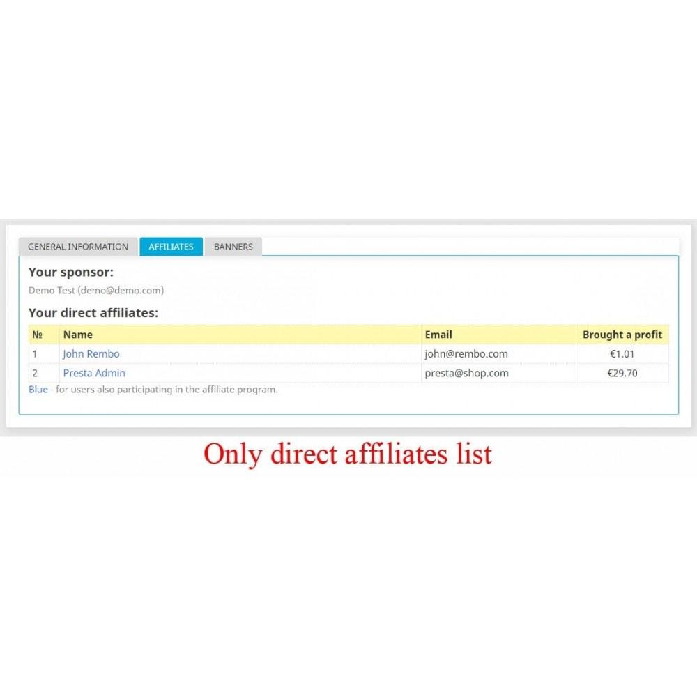 module - Indicizzazione a pagamento (SEA SEM) & Affiliazione - Extended Affiliate Program RefPRO - 23